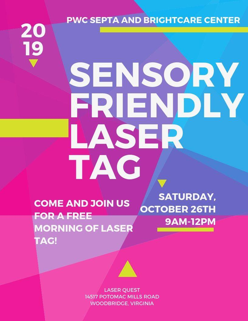 Sensory Friendly laser tag - Sensory Friendly Laser Tag